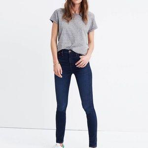 Madewell high rise skinny jean
